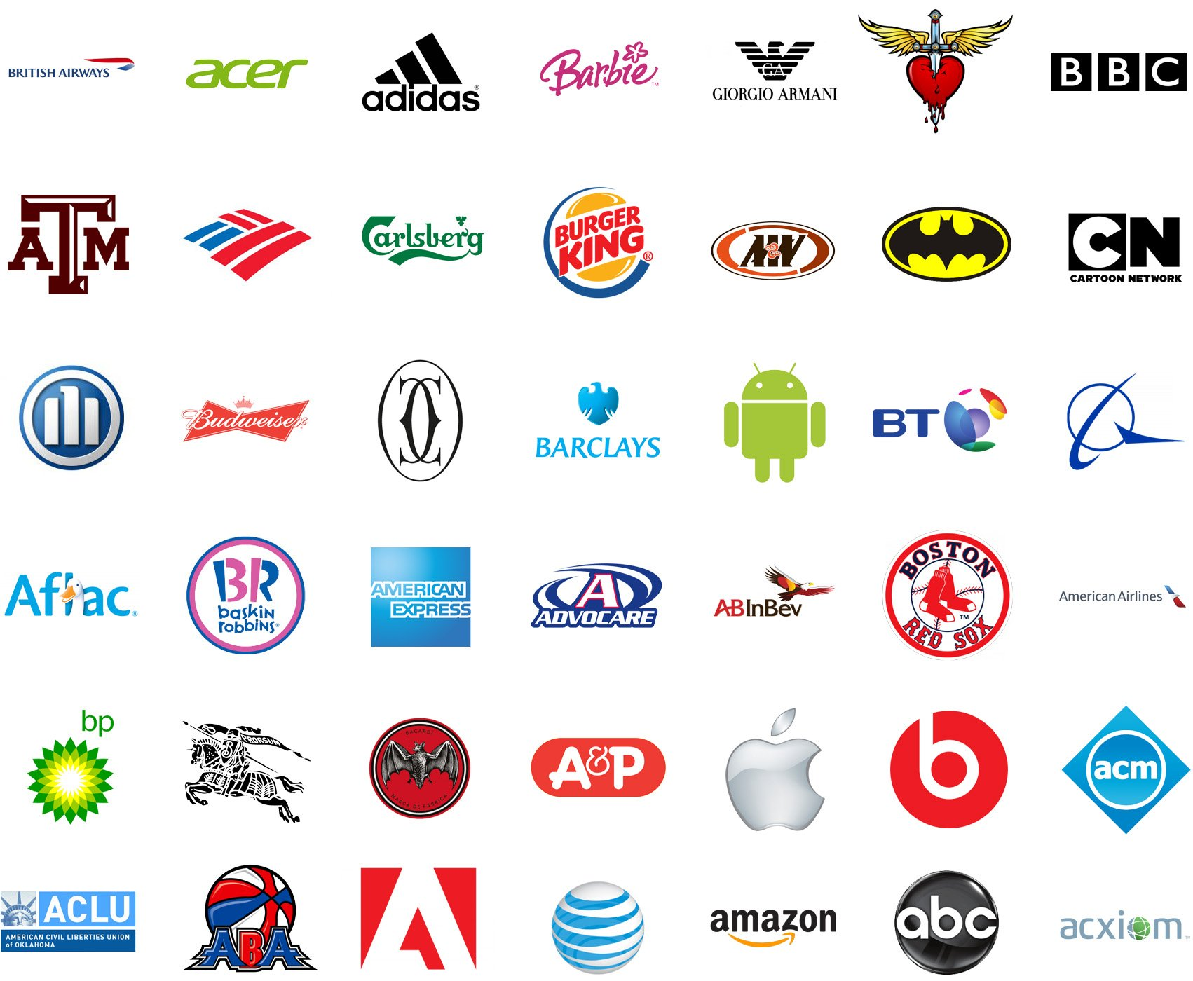 1000 logos the famous brands and company logos in the world for International decor brands