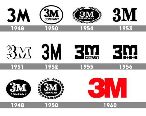 3m logo history