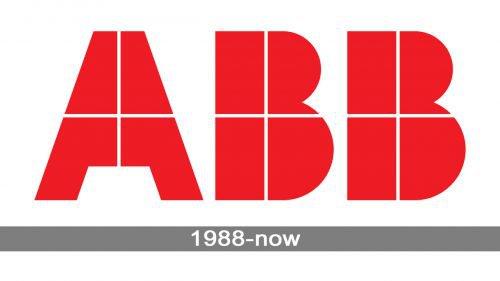 ABB logo history