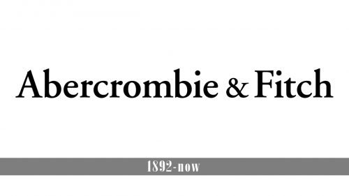 Abercrombie & Fitch logo history