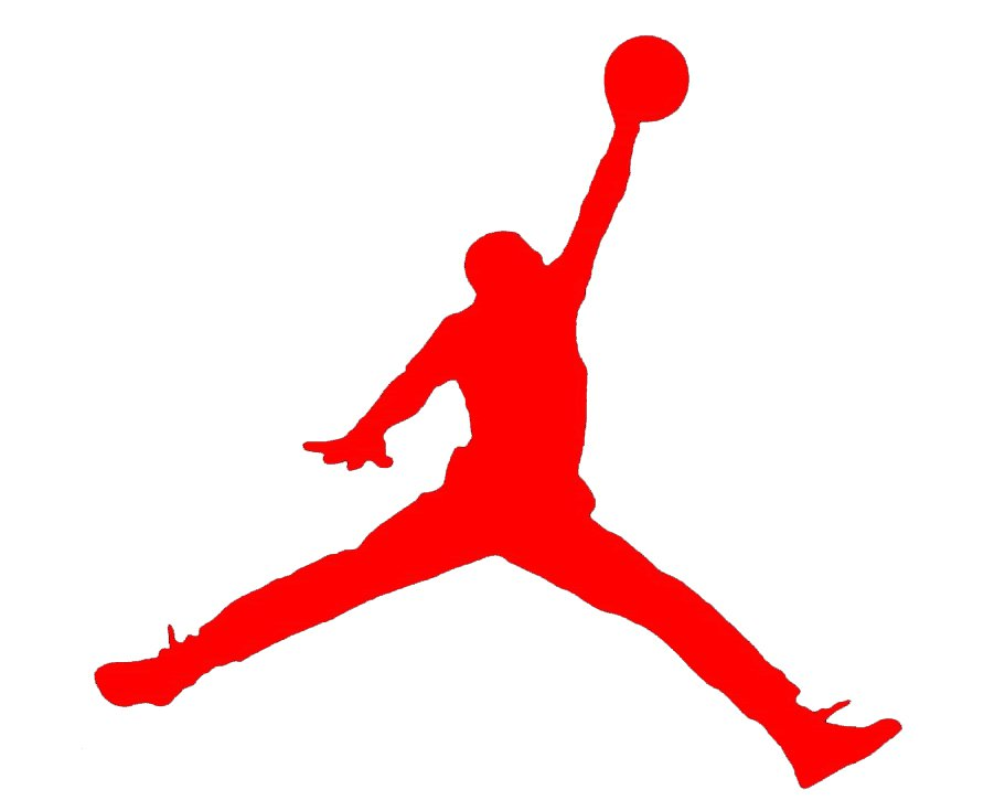 where did the air jordan symbol come from