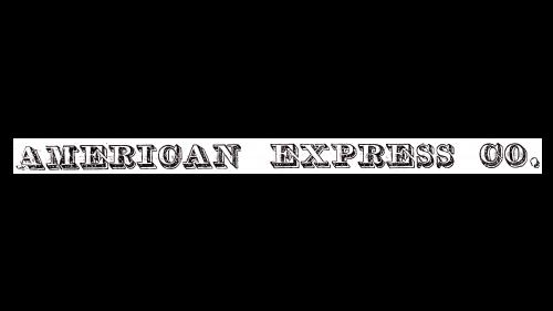 American Express Logo 1853-1974