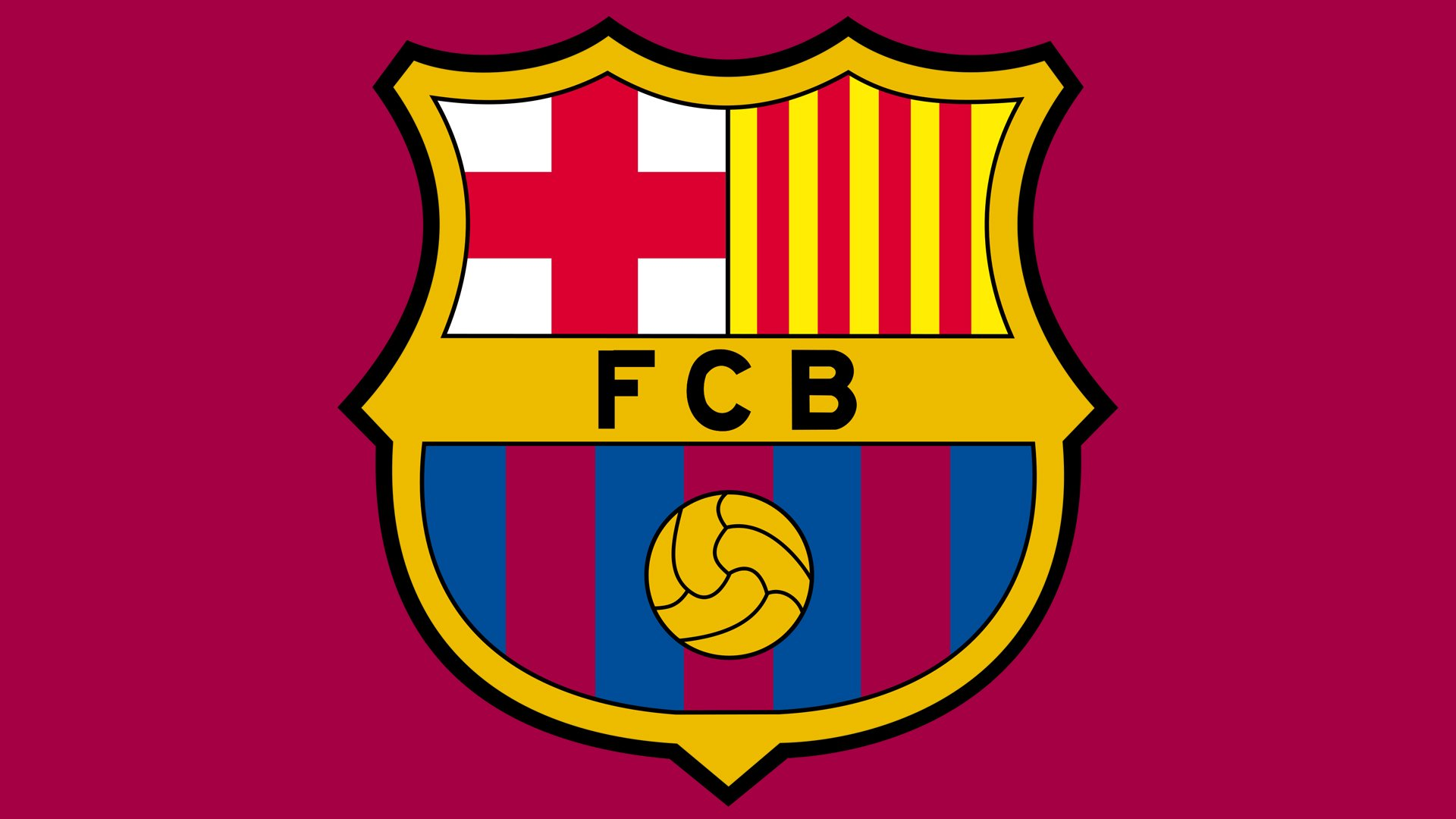 9612353cd Two of the most prominent FC Barcelona colors blue and red (featured on the  bottom part of the football logo) come from the club s first uniform.