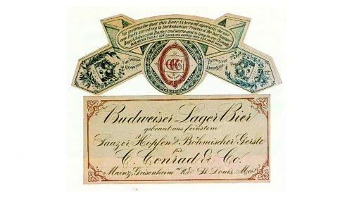 Budweiser Logo 1876