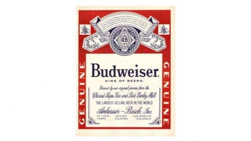 Budweiser Logo 1945
