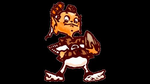 Cleveland Browns Logo 1948