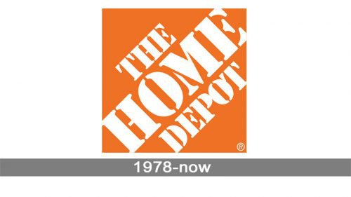Home Depot Logo history