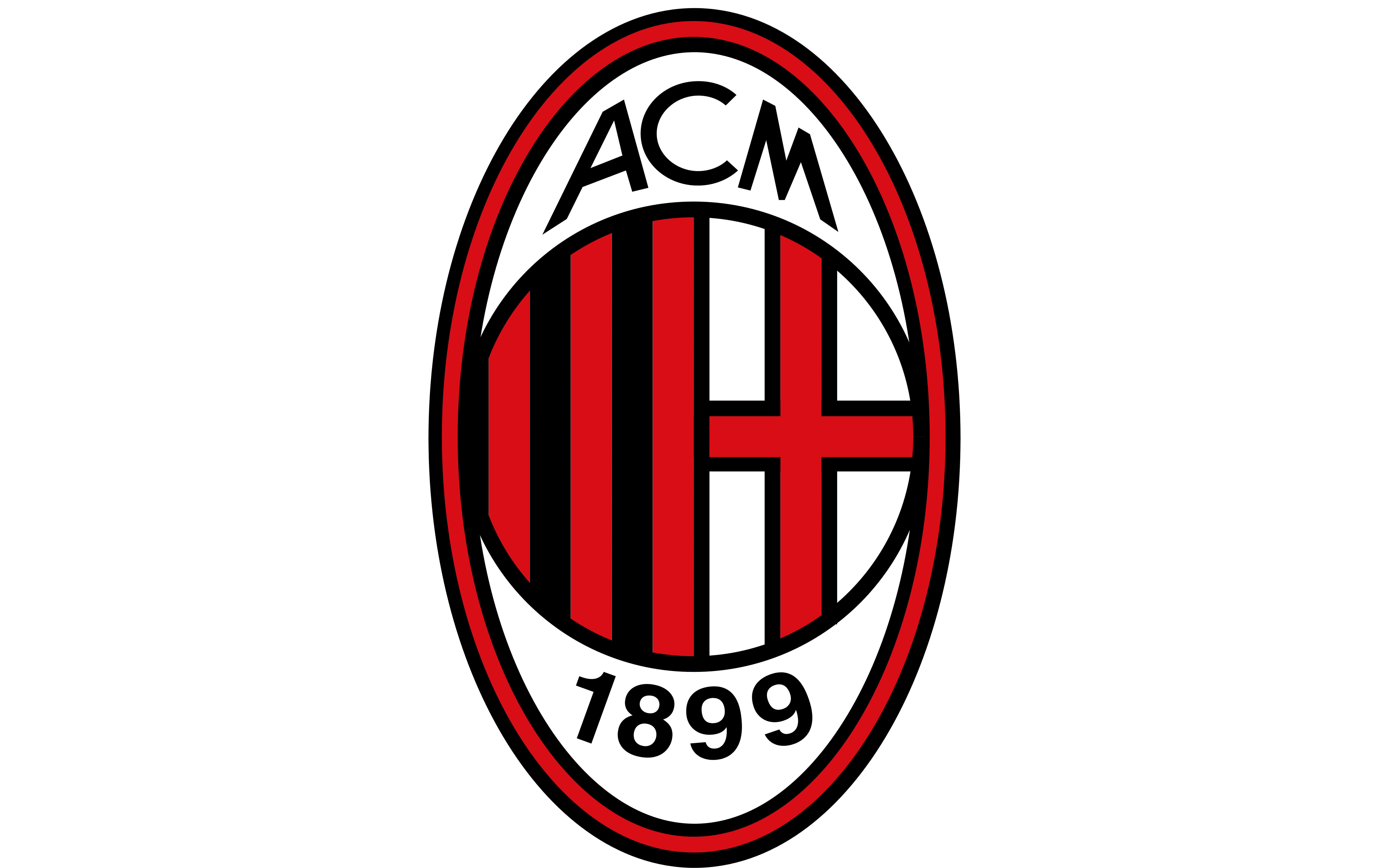 A C Milan Logo And Symbol Meaning History Png