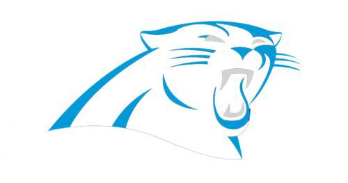 shape carolina panthers logo