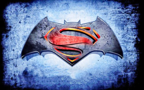 batman vs superman emblem