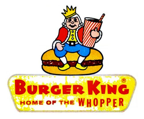 old burger king logo