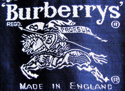 vintage burberry logo