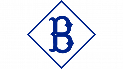 Brooklyn Dodgers Logo 1912