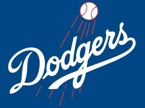 Colors Los Angeles Dodgers Logo