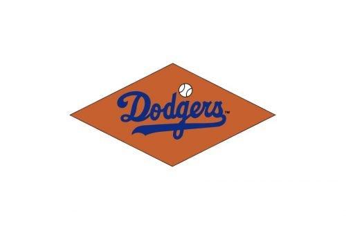Los Angeles Dodgers Logo 1952
