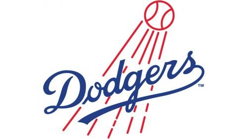 Los Angeles Dodgers Logo 1958