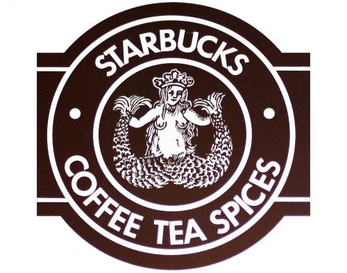 old starbucks logo