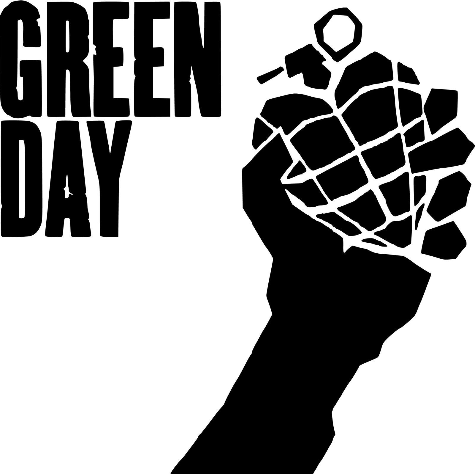 Green Day Logo 2013