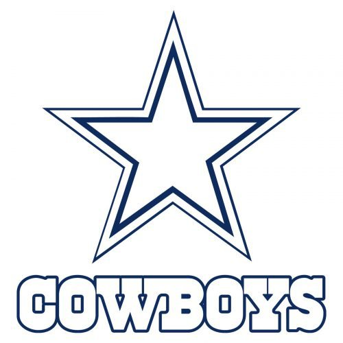 Shape Dallas Cowboys Logo
