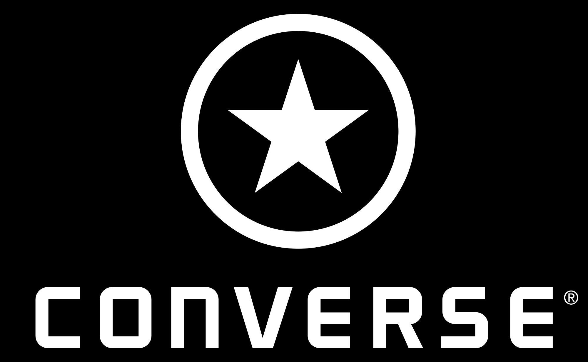 Converse Logo On Shoes