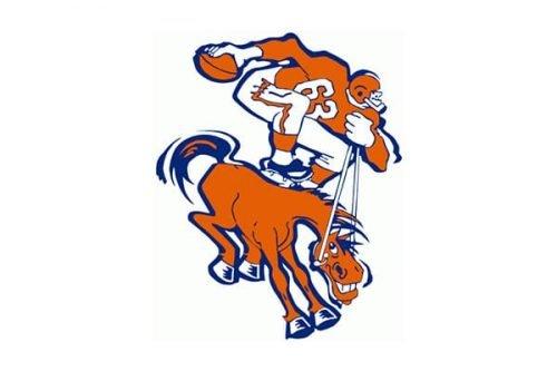 Denver Broncos Logo 1962