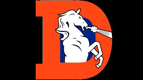 Denver Broncos Logo 1968