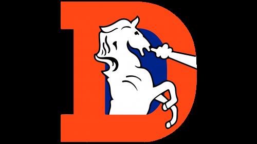 Denver Broncos Logo 1993