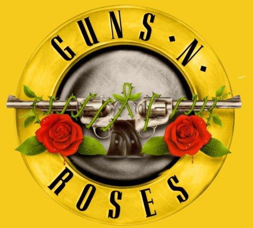 Color Guns N' Roses Logo