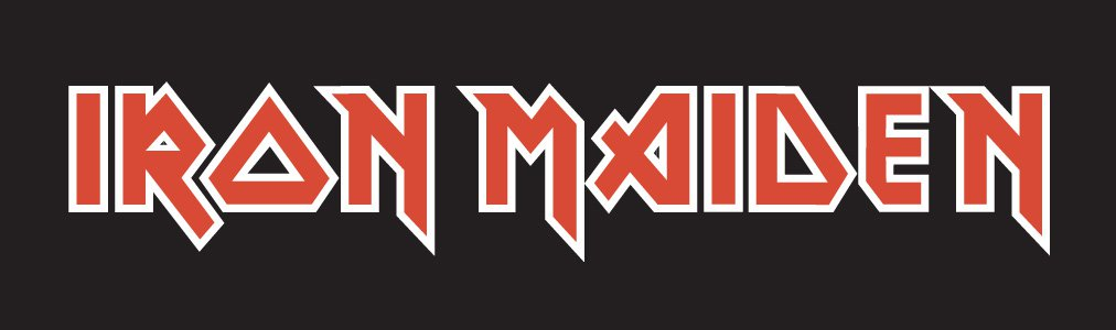 Color Of The Iron Maiden Logo