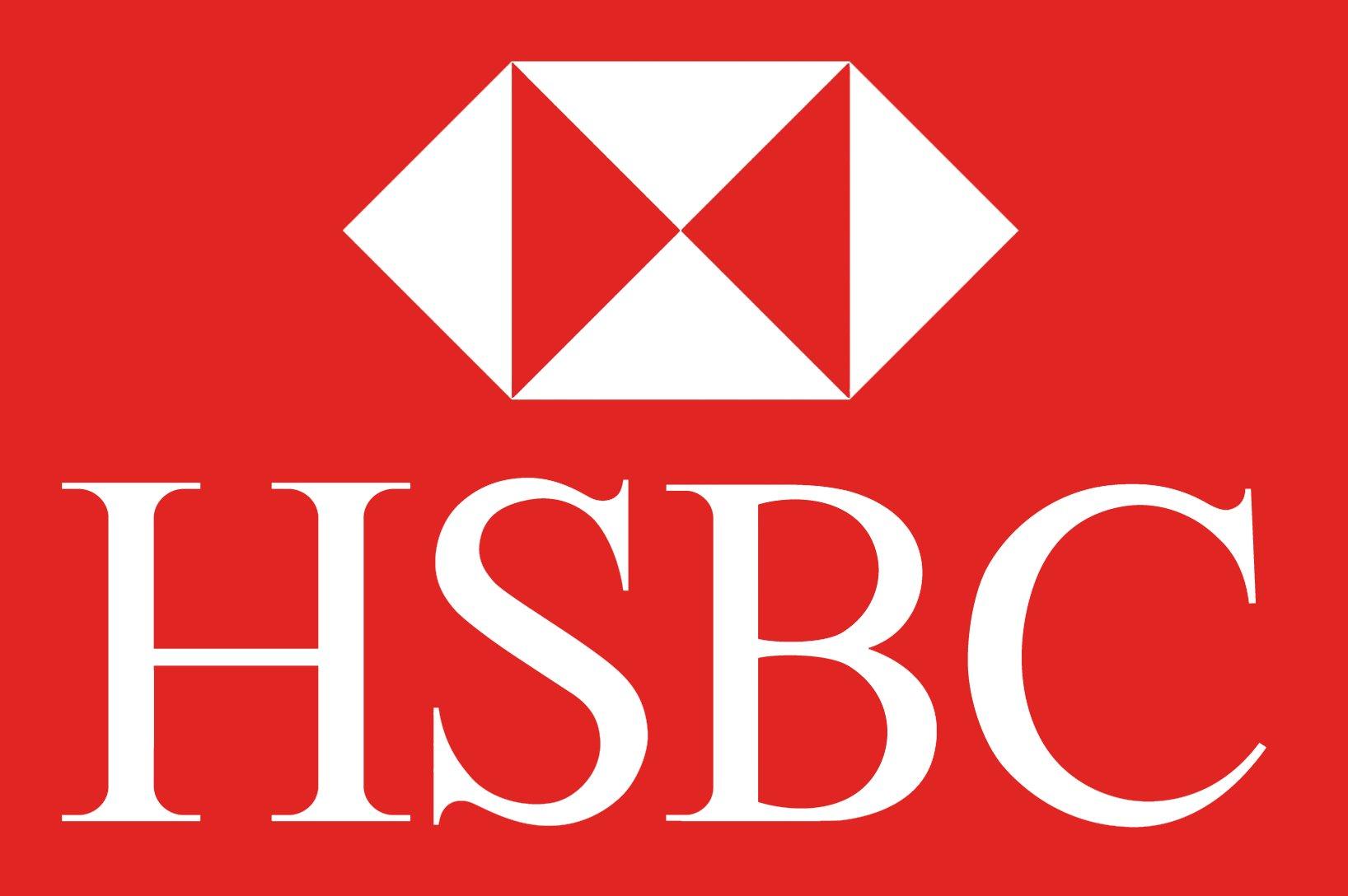 Hsbc logo white — 1