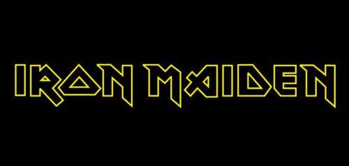 Font Iron Maiden Logo