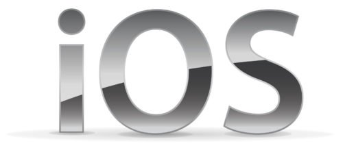 Font of the iOS Logo