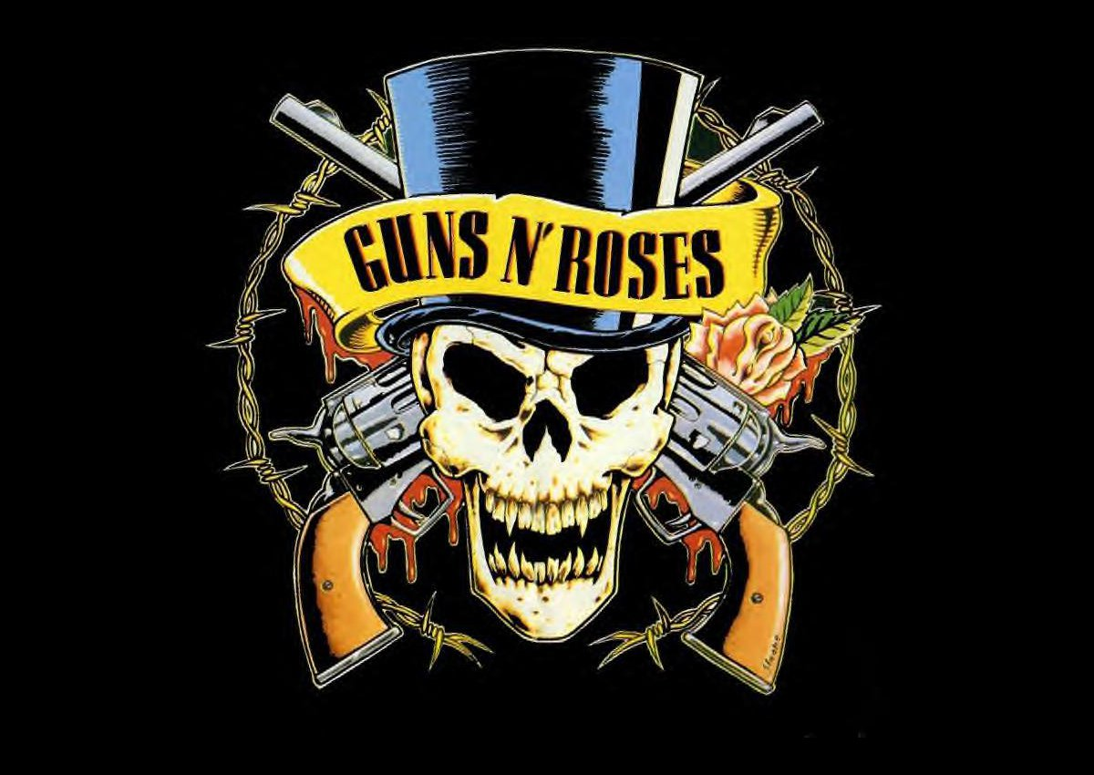 Guns N'Roses Logo, Guns N'Roses Symbol Meaning, History ...