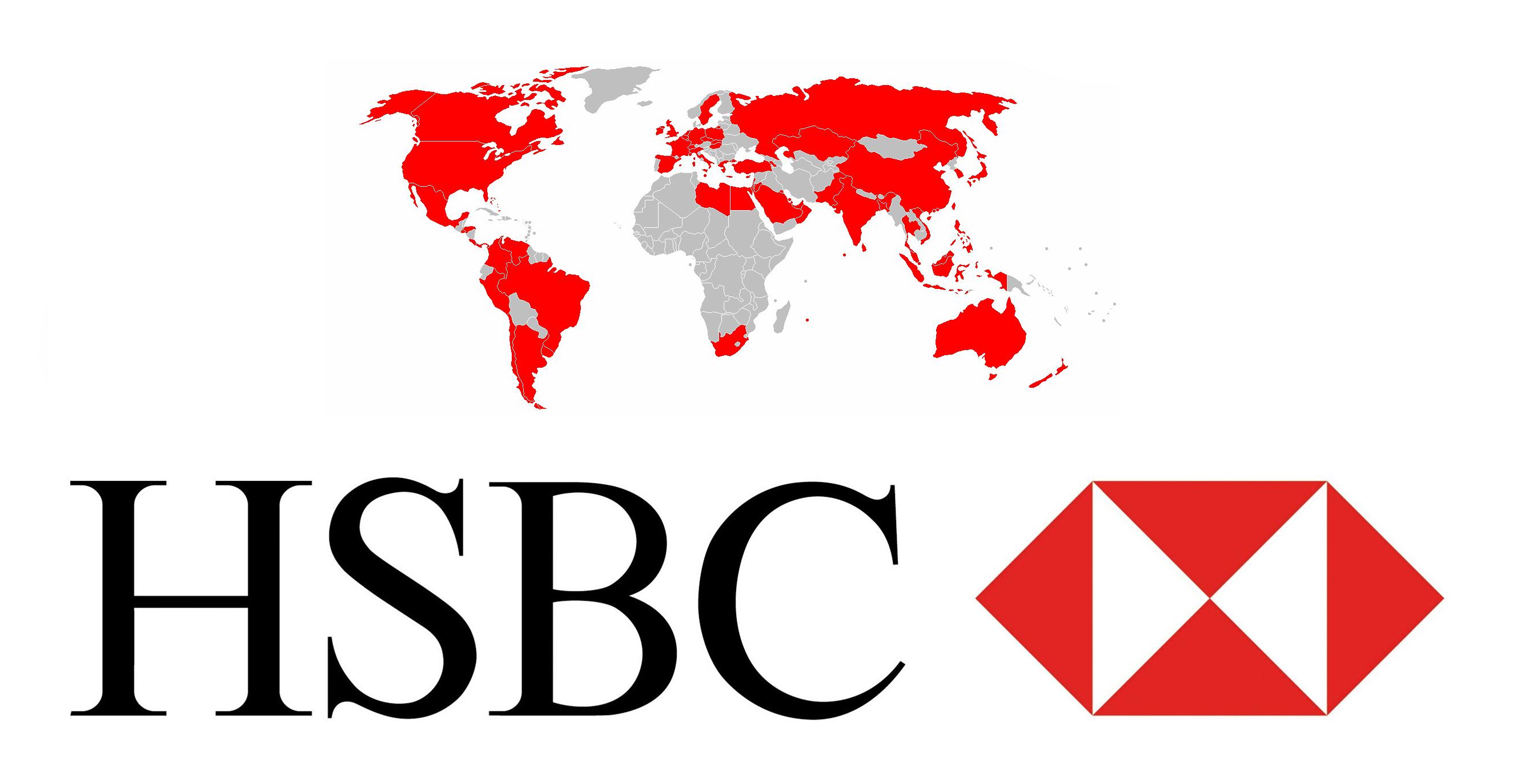 Hsbc Logo Hongkong And Shanghai Banking Corporation Symbol