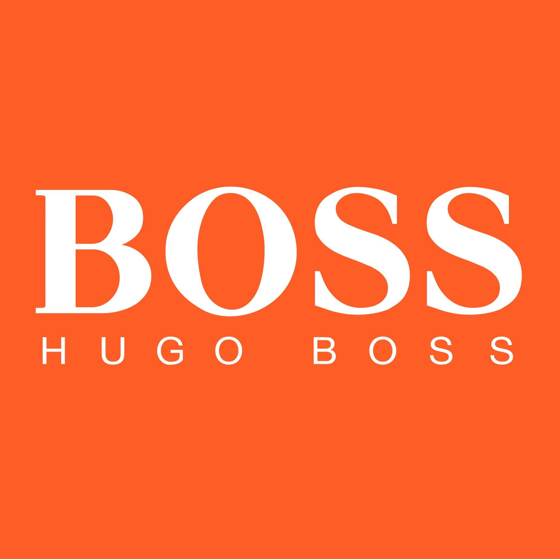 hugo boss orange logo - photo #1