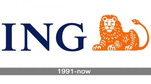 ING logo history
