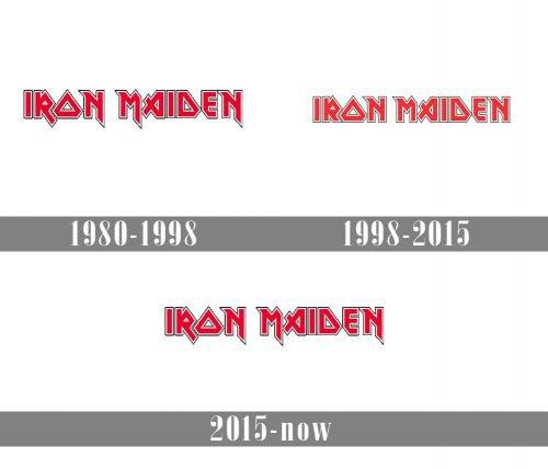 Iron Maiden Logo history
