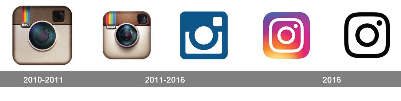 logo instagram evolution