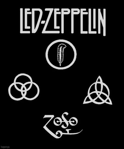 Color of the Led Zeppelin Logo