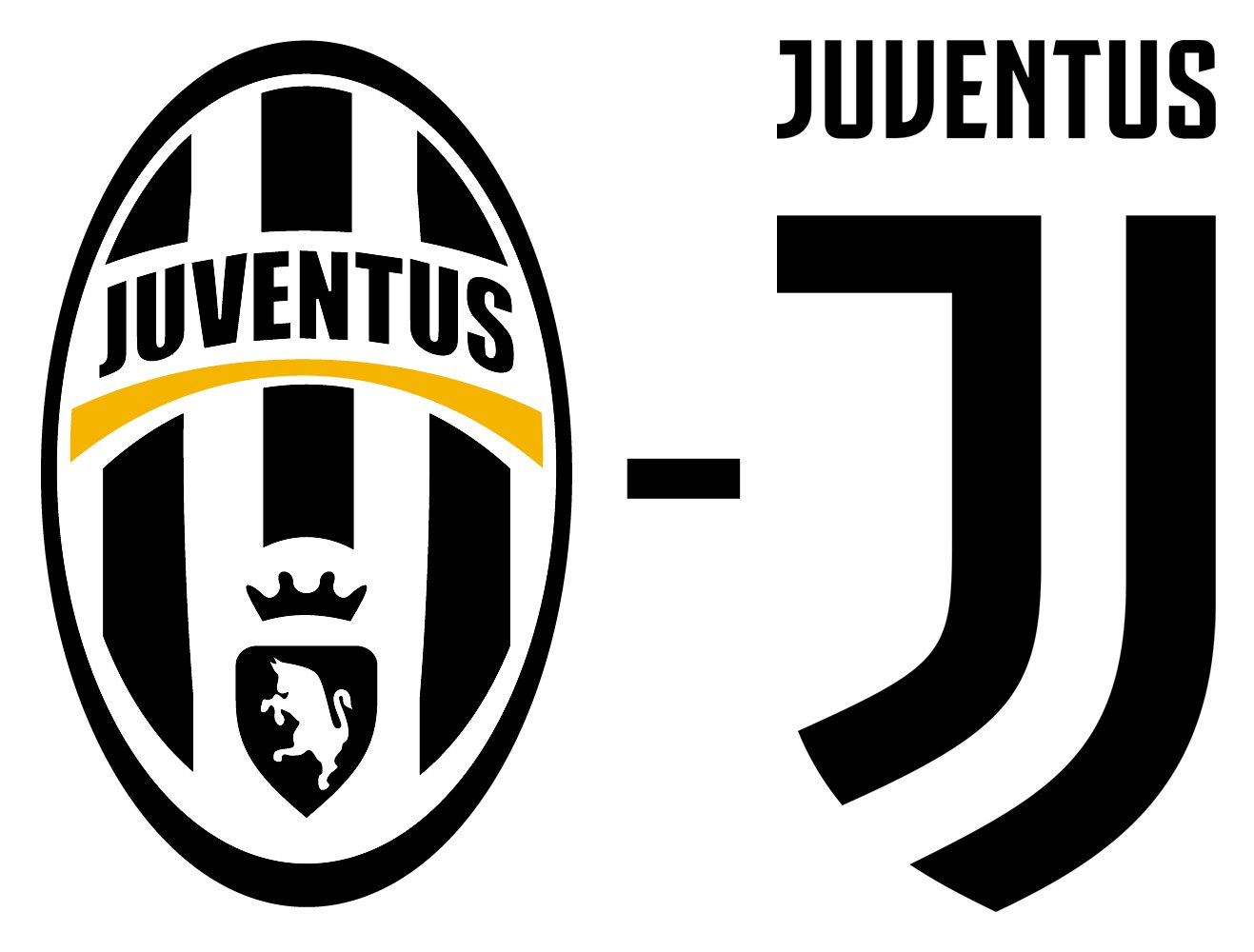juventus logo juventus symbol meaning history and evolution. Black Bedroom Furniture Sets. Home Design Ideas