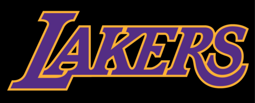 Font of the Lakers Logo