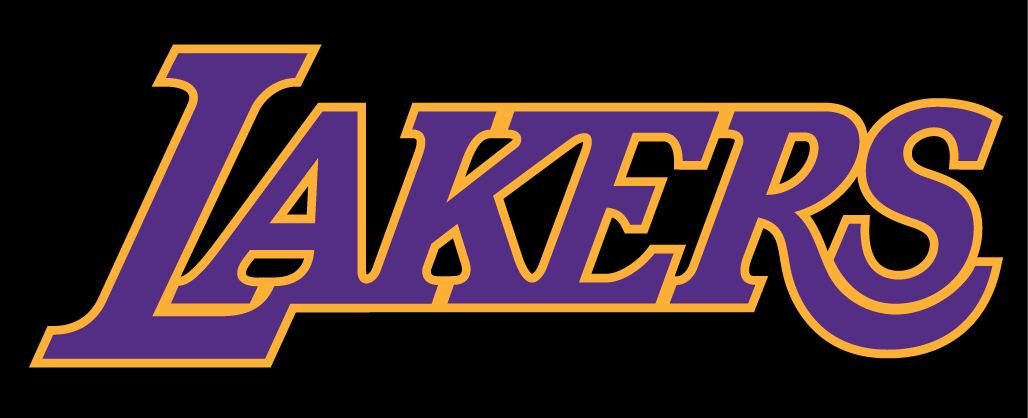 Los angeles lakers logo lakers symbol meaning history and evolution font of the lakers logo voltagebd Images