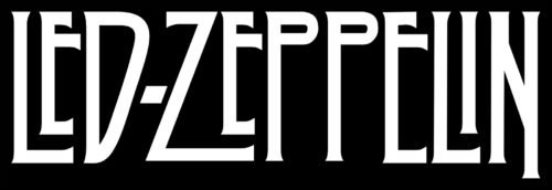 Font of the Led Zeppelin Logo