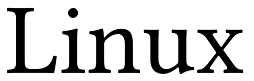Font of the Linux Logo