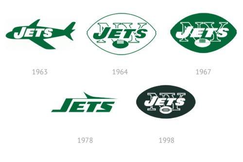 Jets Logo History