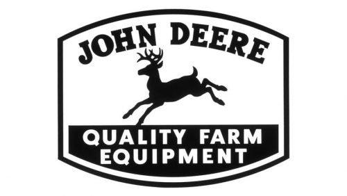 John Deere Logo 1950