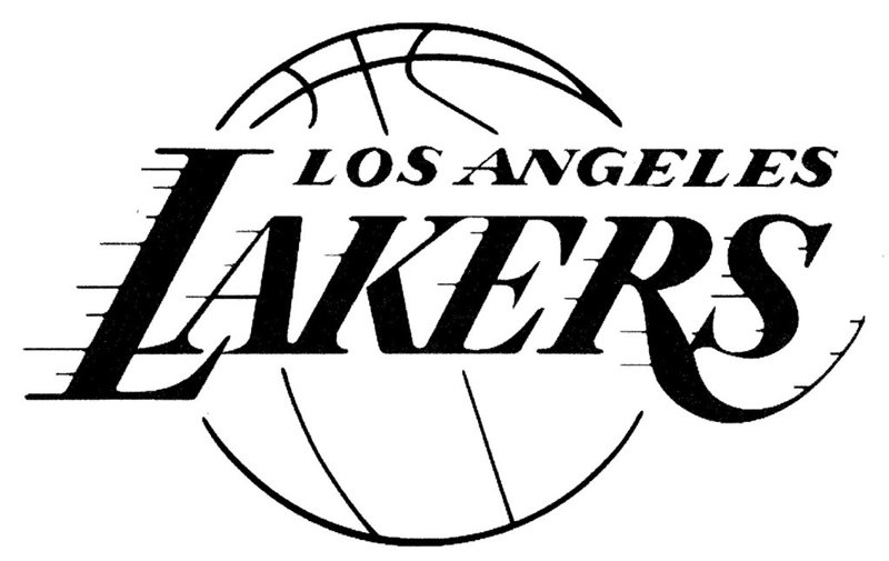 Los angeles lakers logo lakers symbol meaning history and evolution the wordmark los angeles lakers in dark purple is the visual center of the emblem it is placed on top of a gold basketball voltagebd Image collections
