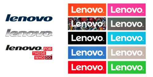 Lenovo Logo history