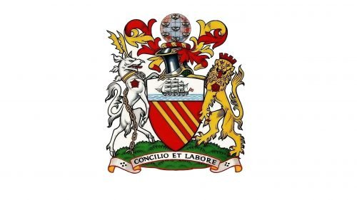 Manchester United Logo 1902