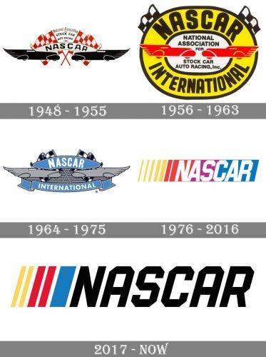 Nascar Logo history